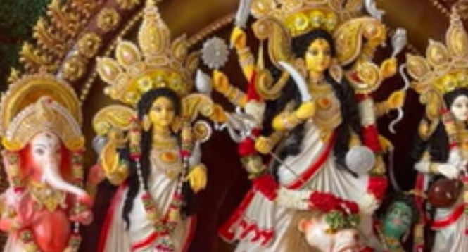 Durga Puja is being celebrated in Christchurch