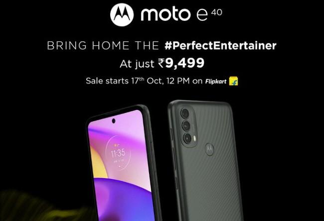 smartphone under 10000 moto e40